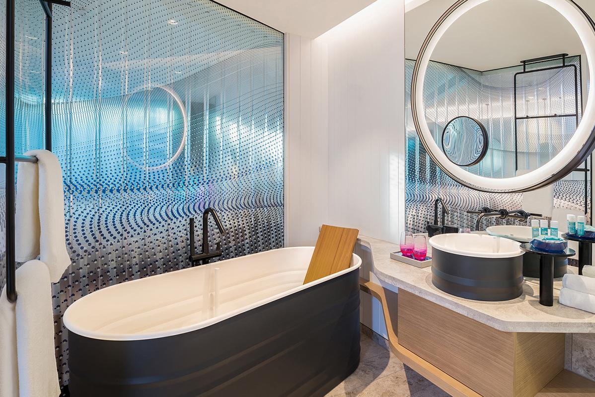 W Hotel Wonderful Bathroom