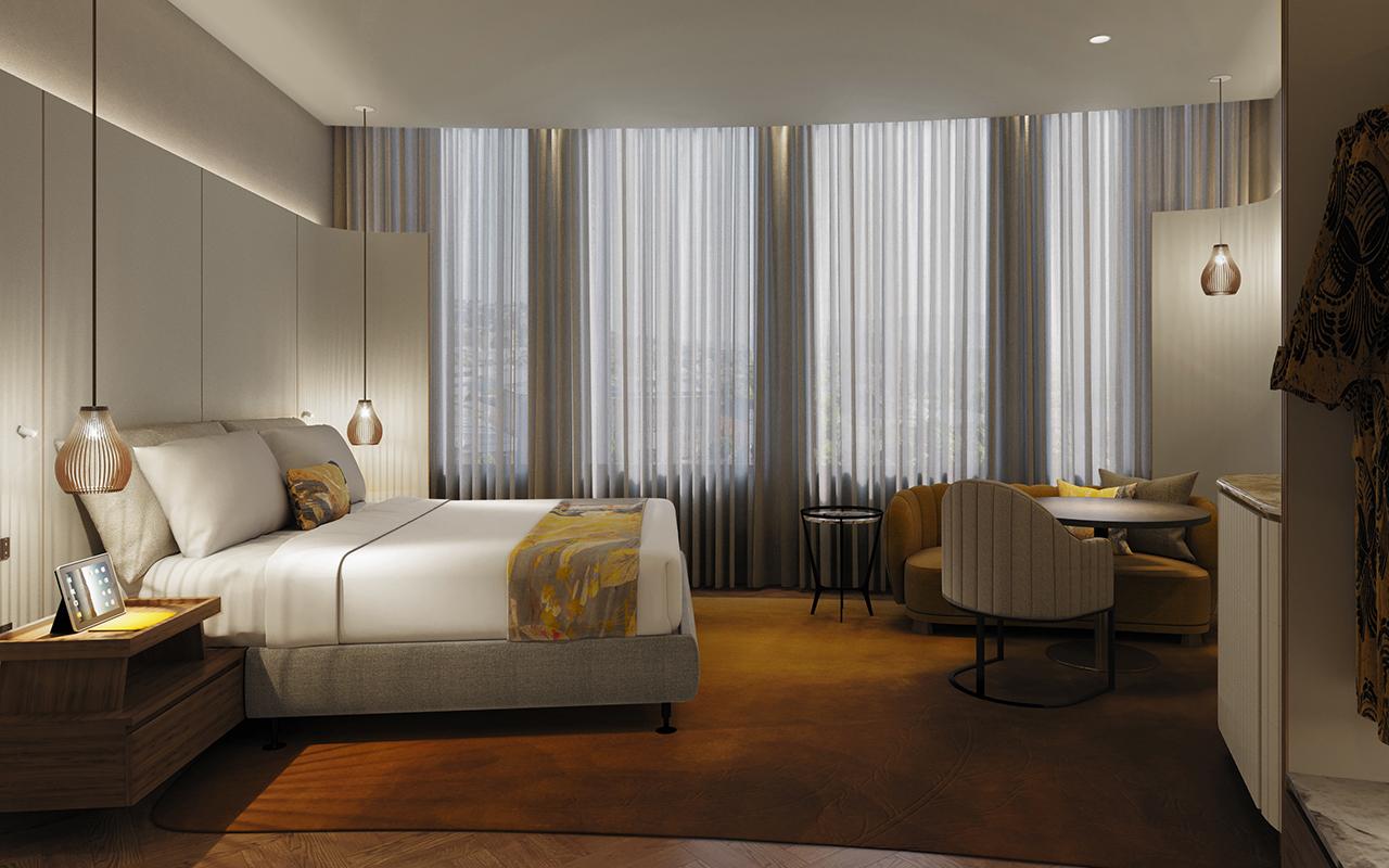 Kingsley Bedroom scene